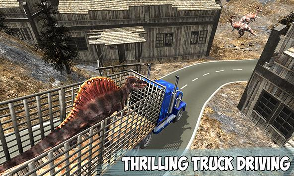 Angry Dino Offroad Transporter screenshot 3
