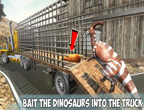 Angry Dino Offroad Transporter screenshot 6