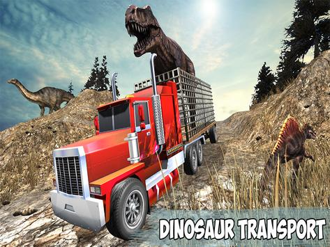 Angry Dino Offroad Transporter screenshot 8