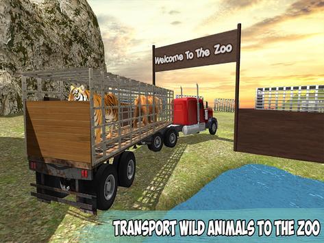 Offroad Wild Animals Transport screenshot 10