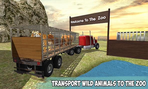 Offroad Wild Animals Transport screenshot 2