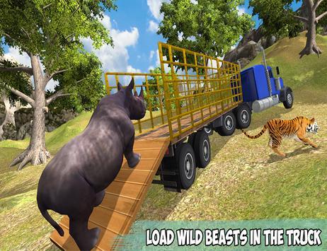 Offroad Wild Animals Transport screenshot 7