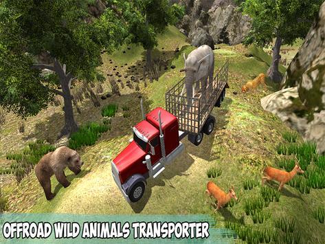 Offroad Wild Animals Transport screenshot 8