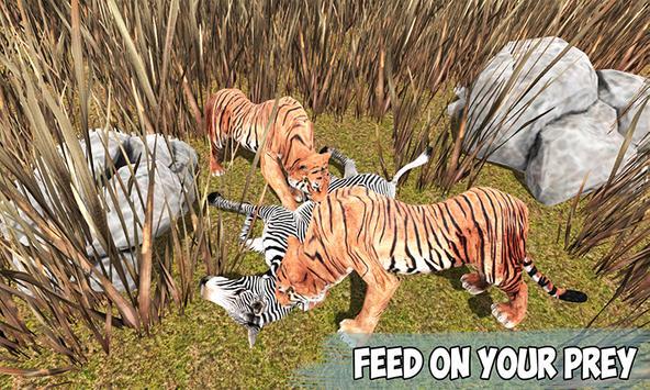 Angry Tiger Jungle Survival 3D apk screenshot