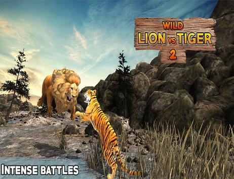 Lion Vs Tiger 2 Wild Adventure screenshot 4