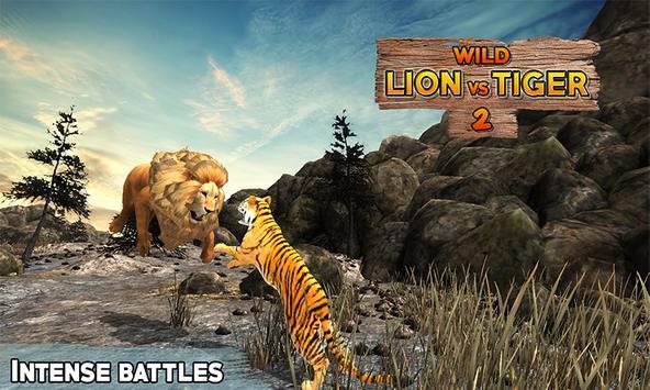 Lion Vs Tiger 2 Wild Adventure poster