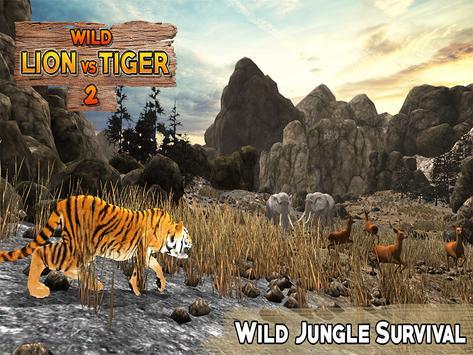 Lion Vs Tiger 2 Wild Adventure screenshot 11
