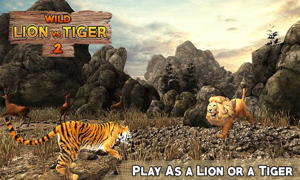 Lion Vs Tiger 2 Wild Adventure screenshot 1