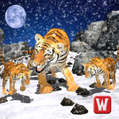 Snow Tiger Wild Life Adventure icon