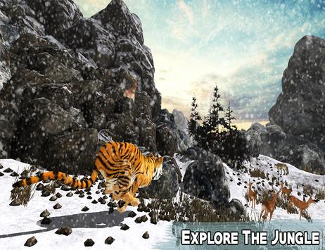 Snow Tiger Wild Life Adventure screenshot 4
