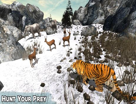 Snow Tiger Wild Life Adventure screenshot 5