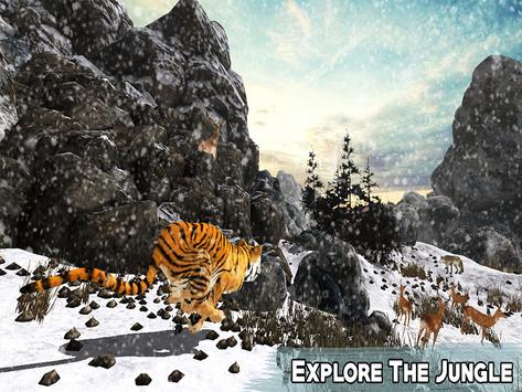 Snow Tiger Wild Life Adventure screenshot 7