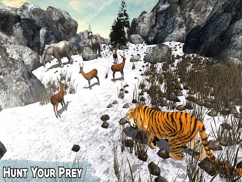 Snow Tiger Wild Life Adventure screenshot 8
