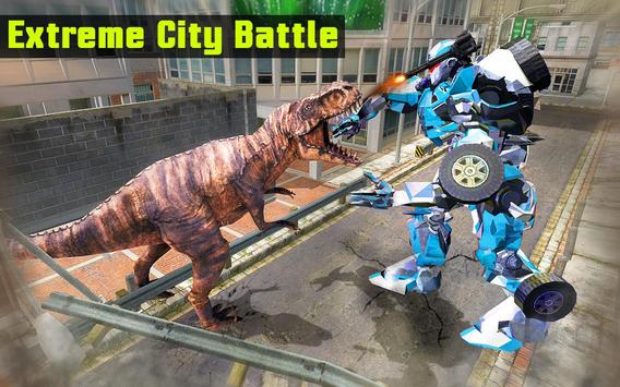 Superhero Robot vs Dino: Incredible Monster Battle screenshot 7