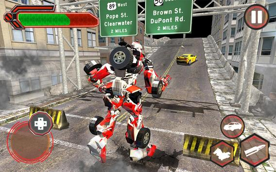 Superhero Robot vs Dino: Incredible Monster Battle screenshot 9