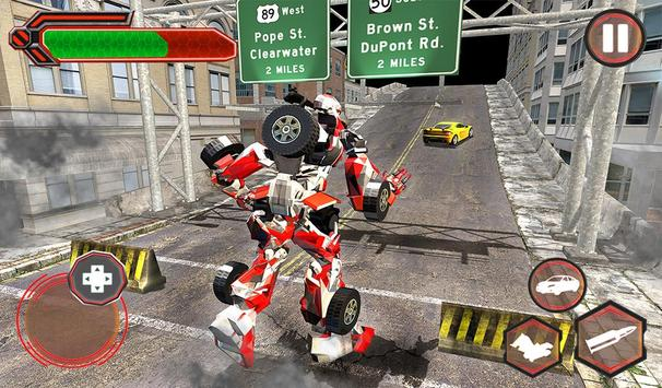 Superhero Robot vs Dino: Incredible Monster Battle screenshot 14