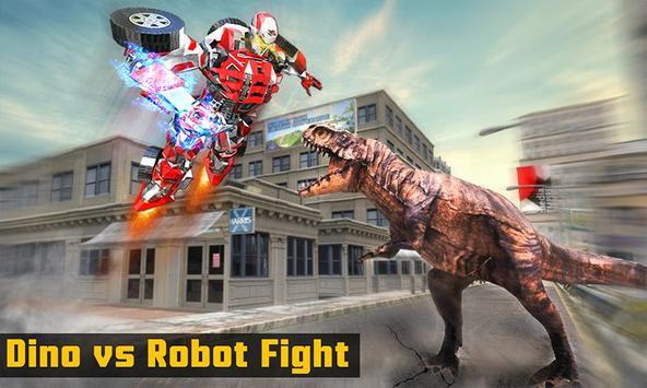 Superhero Robot vs Dino: Incredible Monster Battle screenshot 1