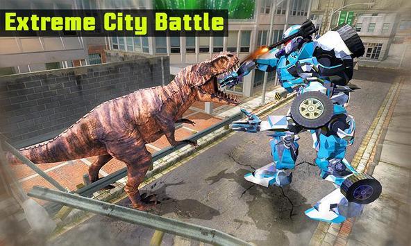Superhero Robot vs Dino: Incredible Monster Battle screenshot 2