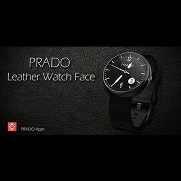 PRADO  - Leather Watch Face poster