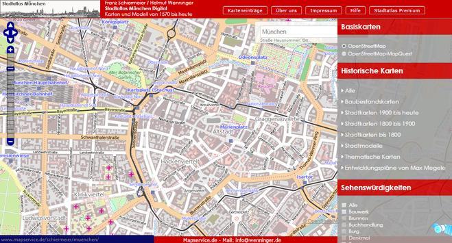 Munich history Mapper apk screenshot