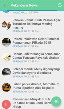 Pekanbaru News screenshot 2