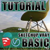 Sketchup Vray Basic Tutorial icon