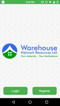 Warehouse Network Marketplace poster