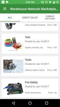 Warehouse Network Marketplace screenshot 1