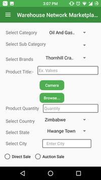 Warehouse Network Marketplace screenshot 4