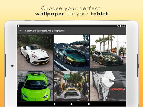 Super Cars Wallpapers And Backgrounds screenshot 5