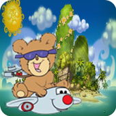 Rope Bear Flying with Game icon