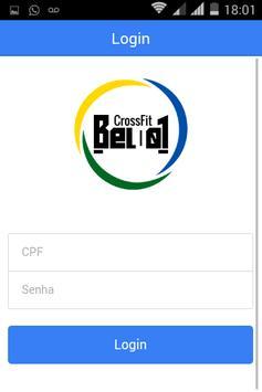 CrossFit Bel01 - Aluno poster