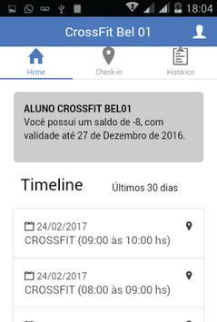 CrossFit Bel01 - Aluno screenshot 1