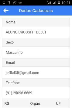 CrossFit Bel01 - Aluno screenshot 2