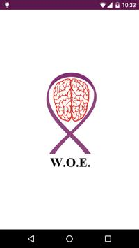 Win Over Epilepsy (WOE) poster