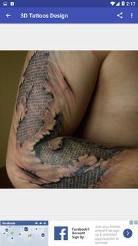 (New) Tattoos 3D Design apk screenshot