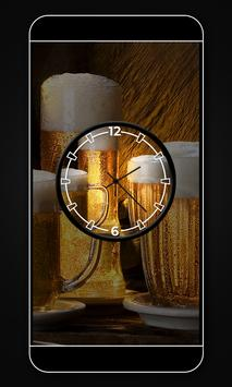 Beer clock live wallpaper screenshot 1