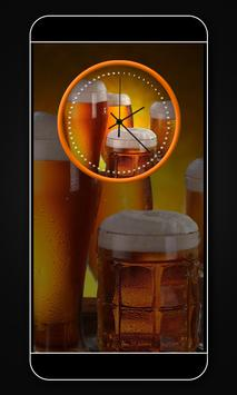Beer clock live wallpaper screenshot 4