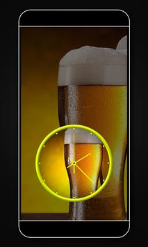 Beer clock live wallpaper screenshot 5