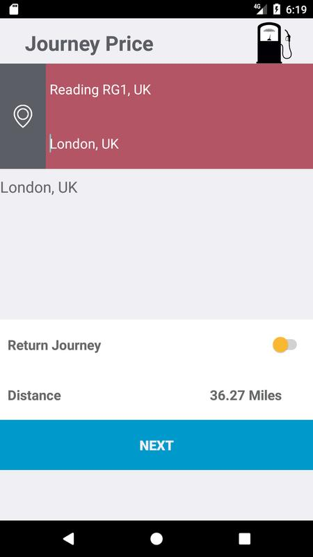 journey price calculator for uk road trips cost uk for android apk