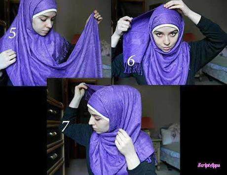 Tutorial Hijab 200+ Model Stylish 2017 screenshot 3