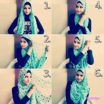 Tutorial Hijab 200+ Model Stylish 2017 screenshot 2