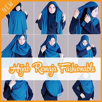 Tutorial Hijab 2017 Remaja Fashionable poster