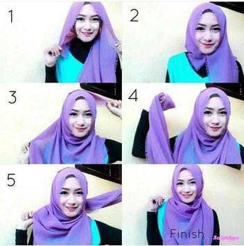 Tutorial Hijab 2017 Remaja Fashionable screenshot 1
