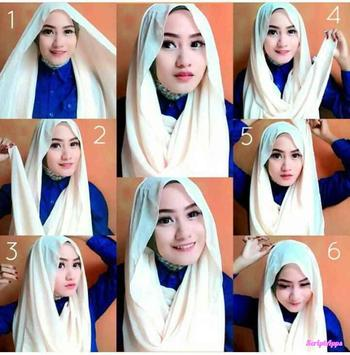 Tutorial Hijab 2017 Remaja Fashionable screenshot 2