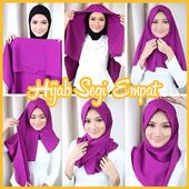 Tutorial Hijab 2017 Segi Empat Baru icon