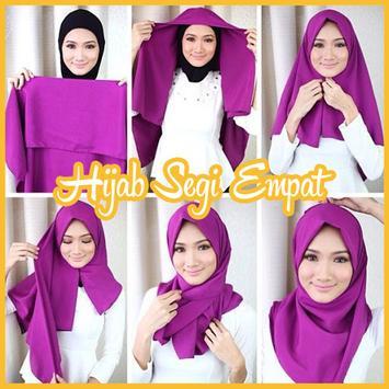 Tutorial Hijab 2017 Segi Empat Baru poster