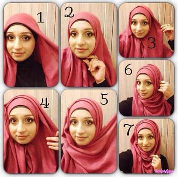 Tutorial Hijab 2017 Segi Empat Baru screenshot 1