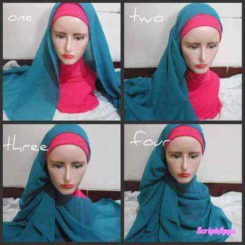 Tutorial Hijab 2017 Segi Empat Baru screenshot 2