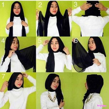Tutorial Hijab 2017 Segi Empat Baru screenshot 4